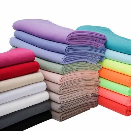 Plain Polyester Cotton Fabric, GSM: 50-100 GSM