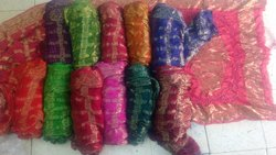 ART SILK CHECKS SAREE