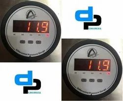 Aerosense Digital Differential Pressure Gauge Model CDPG -20L-LED Range 0-500 MM WC