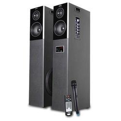 Black Intex IT-TW XM 12004 TUFB DJ Speaker, 50W