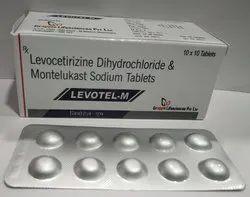 Levocetrizine Dihydrochloride & Montelukast Sodium Tablets