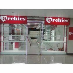 Archies Showroom Interior Designing
