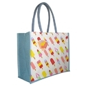 Black, White Earthyybags Printed Shopping Bag, Size: Custom, For Beach/shopping/gift/promotion