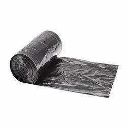 塑料垃圾袋在卷形式