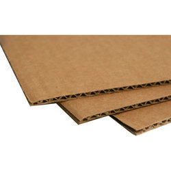 Brown 3 Ply Corrugated Board, Packaging Type: Bundle