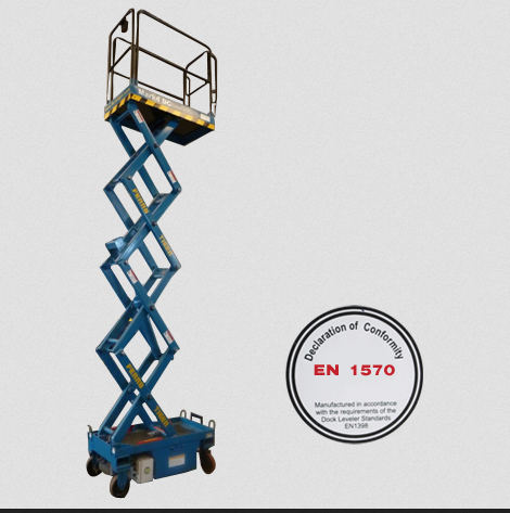 Manufacturer of PALLET STACKER & Elevating Dock by Ferro Foundries ...