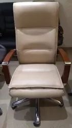 High Back Leatherette Minister Chair