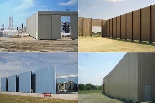 sound barrier walls. FRP Sound Barrier Walls