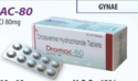 Dromac-80 Drotaverine 80mg Tablets (gynae), For Clinical, Packaging Size: 10 X 10