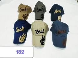 Trendy Looks Cotton Embroidery Caps and Hats, Code 182