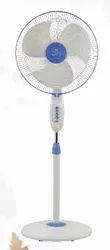 White And Blue Thunder Storm Pedestal Fan