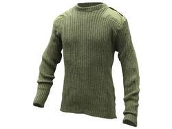 Male Woolen Full Sleeves Army Pullover