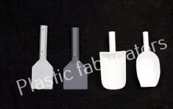 Plastic Fabricators Polypropylene Scoop and Scrapper