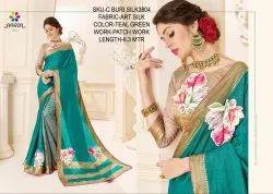 Rachna Art Silk Patch C-Buri Silk Catalog Saree For Women 3