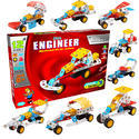 Multicolor Little Engineer-racer Mechanical Kits For Juniors