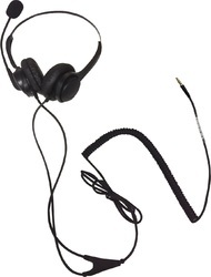ARIA Black Mobile Phone Headset for Call Center, Model Number: Ar11n