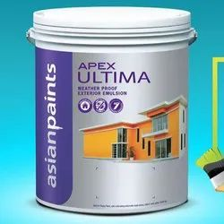 Asian Paints High Gloss APEX Ultima Exterior Paint, Packaging Type: Bucket