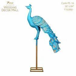 PS16 Peacock Sculpture
