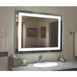 Led Mirror Square Desing