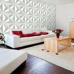 PVC Wall Paneling Work