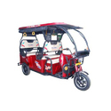 Suvidha 5 Seater Battery Operated E Rickshaw, Warranty: 12 Month