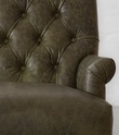 Vintage Chestnut Genuine Leather Three Seater Sofa