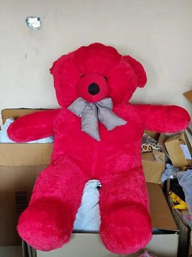 Red Teddy Bear 5 Feet, Red 5feet Teddy Bear 4 Kg Rs 790 Piece White Star Alliance Id 21985880348