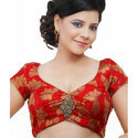 Party Wear Red Designer Blouse