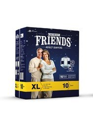 Friends Overnight Adult Diaper Xl ( 16 Hours Protection)