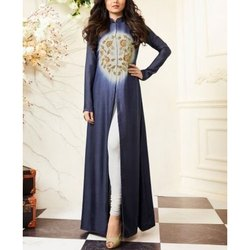 Printed Stitched Ladies Slit Kurti