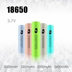 Roofer 18650 Lithium Ion Battery, Capacity: 2000-2600 Mah, Voltage: 3.7V