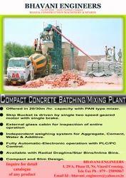 Compact Concrete Mixing Plant