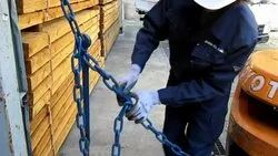 Chain Rope Cargo Lashing Work