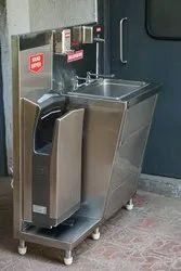 Jet Hand Dryer Hand Wash Station