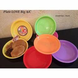 7 Inch Plastic Plate