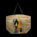 Natural Printed Juco Bag