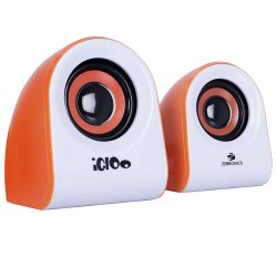 Zebronics ZEB- IGLOO 2.0 Multimedia Speaker with Volume Control & USB/3.5mm Jack Input