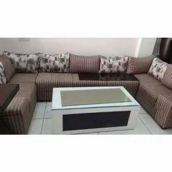 U Shaped Sofa Set, Warranty: 1 Year