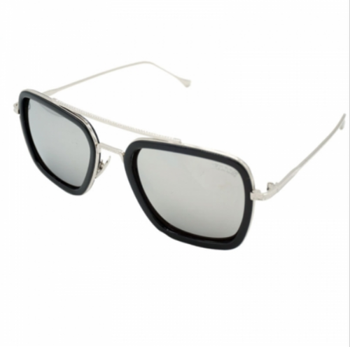 37702fbe513 Racto 006 Silver Frame Sunglasses