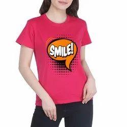Ladies Cotton T- Shirt