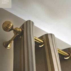 Vista Brass Curtain Rods