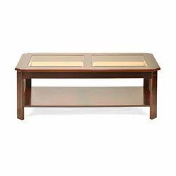 Rectangular Teak Woodn TV Table