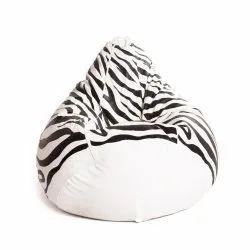 487ad1a89e Mollismoons Printed Leather Bean Bag Chair