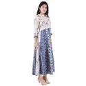 Lavanya Cotton Designer Dual Coloured Printed Kurti