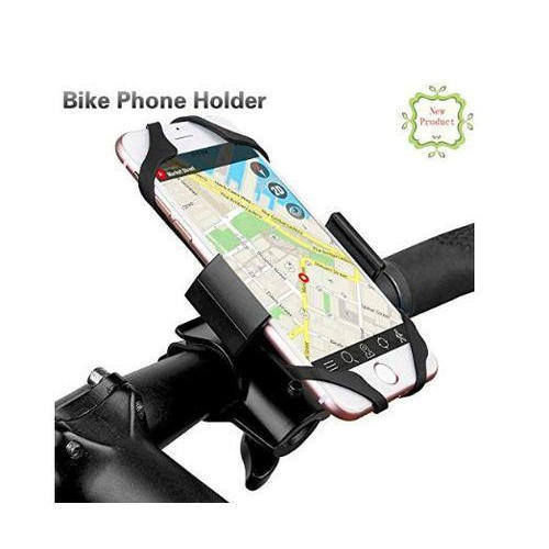 X-Shape Grip Motorcycle Bike Handlebar Cell Phone Mount Holder W// USB Charger PY