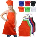 APRON CHEF CAP SET