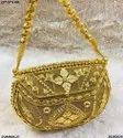 Designer Metal Clutch Bag