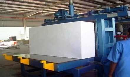 Hydraulic Operated EPS Block Moulding Machine - Mane
