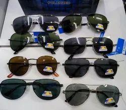 Plastic Polarized Sunglasses, Size: Medium