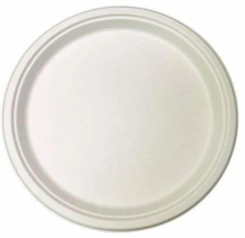 Biodegradable Bagasse Disposable Plates